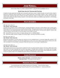 Resume Example Teacher by Enjoyable Inspiration Physical Education Teacher Resume 12 Format