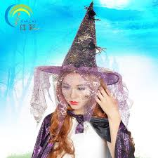 Halloween Costume Hat Popular Costume Witch Hat Buy Cheap Costume Witch Hat Lots