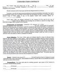 sample construction company profile template formato carta poder