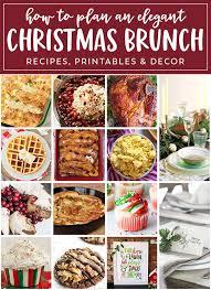 ideas for a brunch christmas brunch recipes ideas for a event