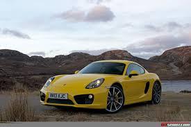 porsche cayman yellow road test 2013 porsche cayman s gtspirit