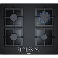 plaque cuisine gaz siemens ep6a6pb20 table de cuisson gaz 4 foyers 7500 w l 59