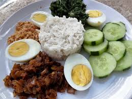 recette cuisine malaisienne riz à la noix de coco nasi lemak malaisie la tendresse en cuisine