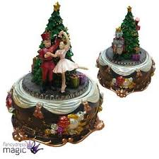 Gisela Graham Christmas Decorations Wholesale by Gisela Graham The Nutcracker Story Revolving Music Box Christmas