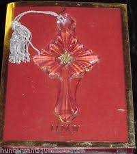 lenox cross ornament ebay