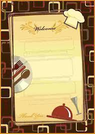 free menu design templates restaurant menu template 4 jpg scope