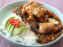recette de cuisine antillaise guadeloupe matoutou de crabe riz et avocat délicieux guadeloupe