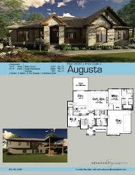 1 story craftsman house plan augusta