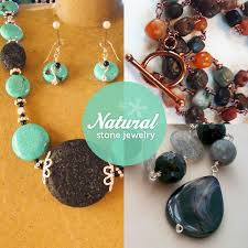 natural stones necklace images In the jewelry world natural stones rock see these craftsy projects jpg
