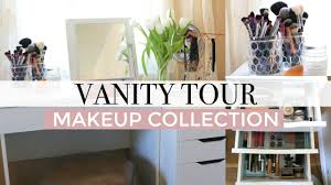 Urban Outfitters Vanity Vanity Tour 2017 Makeup Collection Storage Youtube