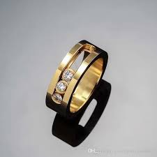 American Wedding Rings by Direct Selling Fashion European And American Jewelry Three Diamond