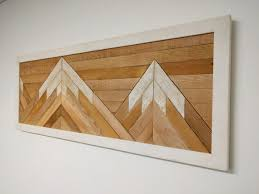 sale reclaimed wood wall mountain wall