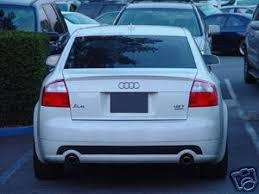 audi a4 spoiler audi a4 spoiler 2002 2005 unpainted primer factory style in the