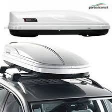 porta pacchi auto box auto portatutto da tetto modula wego 450 baule bauletto