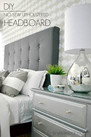 White Cushioned Headboard by Diy Upholstered Headboard With A High End Look