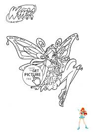 winx club coloring pages for girls printable free 19