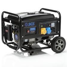 3 75 kva heavy duty portable petrol generator with wheel kit 4