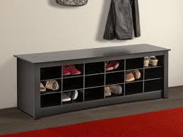 shoe bench storage treenovation