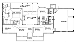 ranch floor plans with split bedrooms stylish design 4 bedroom ranch floor plans split bedroom plans