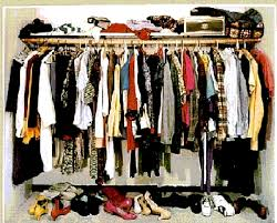 tips for what to do with crammed clothes into your closet