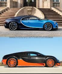 diamond bugatti bugatti veyron vs bugatti chiron in images