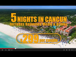 cancun vacation packages from 299 per