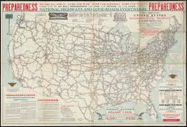 Map Of The United States And Mexico by Hammond U0027s Comprehensive Map Of The United States With Portions Of