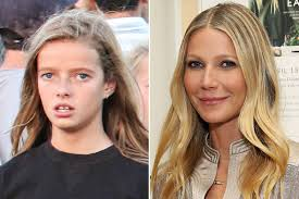 chris martin and gwyneth paltrow wedding gwyneth paltrow u0027s daughter apple looks just like her mum when