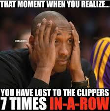 La Clippers Memes - it sucks doesn t it l a clippers pinterest funny nba