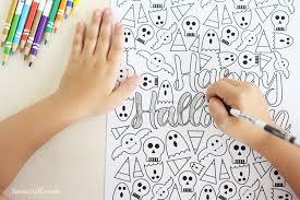 halloween coloring liz call