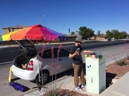 box beautification art project comes to lone mountain area u2013 las