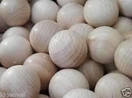 wooden balls 30 pcs scented wooden balls 2 scents choose lavender or vanilla