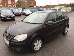 volkswagen polo 2005 vw polo 2005 black 1 2 petrol manual very tidy car low mileage