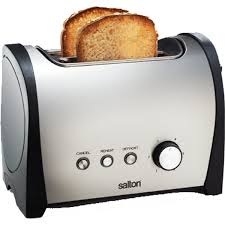 Stainless Toaster 2 Slice Salton Stainless Steel 2 Slice Toaster Sst206 Get The Best