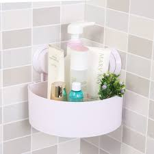 luluhut suction cup bathroom shelf basket rack wall hanging wall
