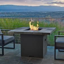 Real Flame Fire Pit - real flame mezzo round fire table flint gray hayneedle