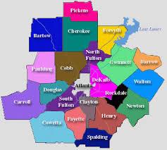 map of atlanta metro area atlanta mls