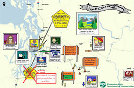 Dot Seattle Traffic Map by Washtucna Road Conditions With Driving And Traffic Flow