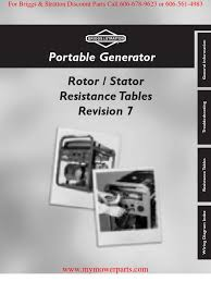 87971gs generator resistance tables rev 7 rectifier amplifier