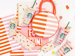 starbucks and ban do teamed up to make some gorgeous summer