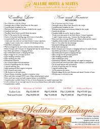 wedding packages wedding n hotel wedding packages opulence package remarkable