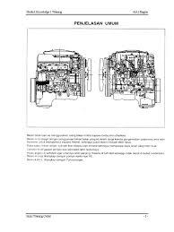 buku manual diesel seri 4 j isuzu eng