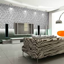 black and white home interior modern lounge wallpaper home design