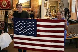 The Amarican Flag Blog Navajo Weaving And The American Flag