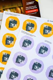 properprintables printable trick or treat stickers