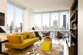 home design nyc one bedroom living room interior design chelsea landmark residential