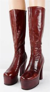 s boots 1033 best 1970s platform shoes boots images on