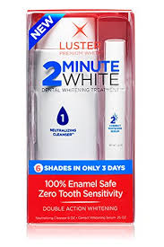 pro light dental whitening system reviews amazon com luster 2 minute white health personal care
