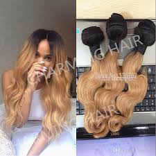 honey weave cheap 1b 27 honey root ombre wave