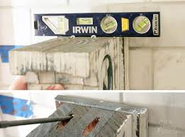 Install Heavy Duty Shelf Brackets In Concrete The Homy Design - how to install shelves using corbels on a tile wall pretty